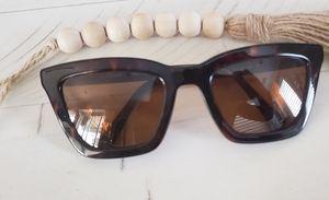 New Coach brown square sunglasses rx